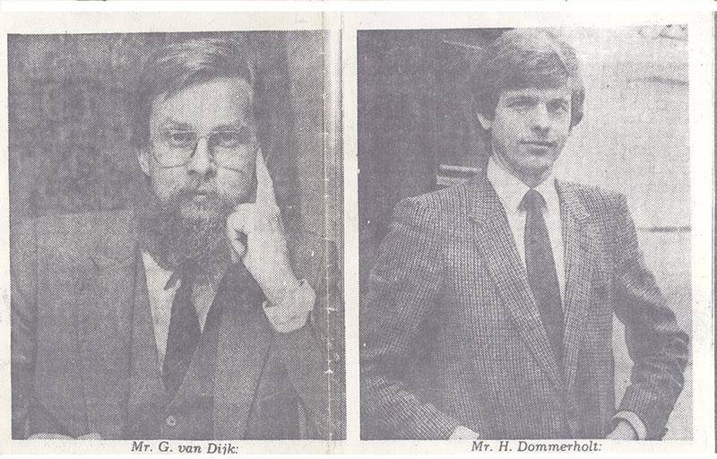 Ger van Dijk & Hans Dommerholt - Dommerholt Advocaten